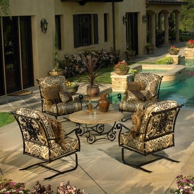 Identify Quality Wrought Iron Furniture, Vintage Wrought Iron Patio Furniture Brands