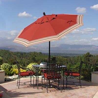 How To Stop Your Umbrella From Blowing Away This Summer Today S Patio
