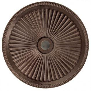 Classic umbrella base 50lb - Bronze top view