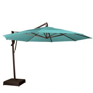 13' octagon cantilever umbrella - Aruba