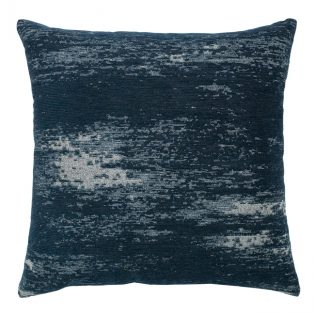 "20"" Distressed Indigo Double Sided outdoor pillow"