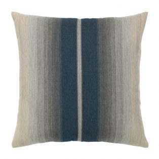 "Elaine Smith 20"" Ombre Indigo designer throw pillow"