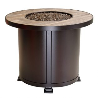 """30"""" round chat height Santorini fire pit"""
