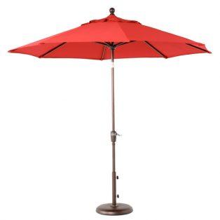 9' Market umbrella - Red