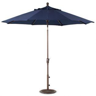 9' Market umbrella - Navy