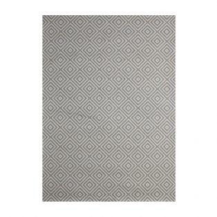 Athens Silver 5' x 7' outdoor area rug from Treasure Garden