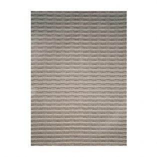 Ridge Charcoal 5' x 7' outdoor area rug from Treasure Garden