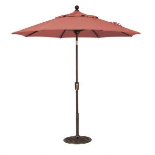 7.5' Market Umbrella - Henna