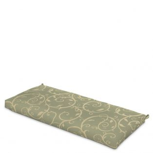 Hanamint Grand Tuscany replacement bench cushion with Sunbrella