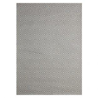 "Athens Silver 7'10"" x 10' outdoor are rug from Treasure Garden"