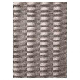 """Treasure Garden Cobblestone Gray 7'10"""" x 10' outdoor area rug"""