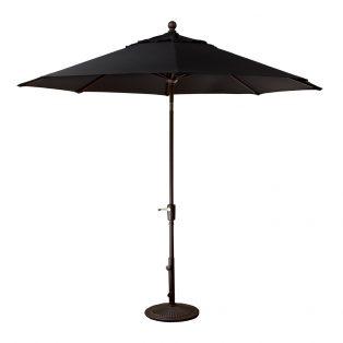 9' Market umbrella - Black