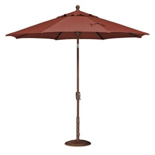 9' Market umbrella - Burnt Orange