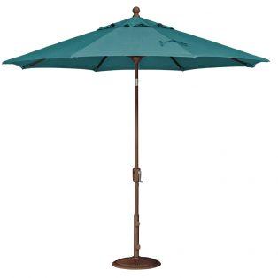 9' Market umbrella - Spectrum Peacock
