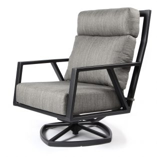 Aris swivel rocker loung chair