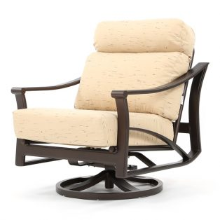 Corsica swivel action club chair