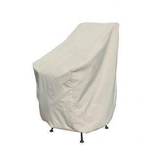 Protective covers for stacking chairs or barstools