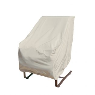 Protective cover for high back outdoor chair CP112