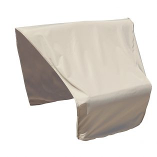 Sectional or modular wedge end (right facing) cover