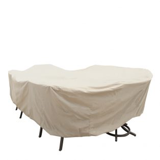 Extra large oval table and chair cover CP699