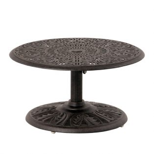 "42"" round Tuscany pedestal chat table"