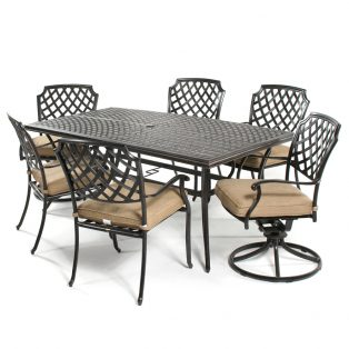 Heritage 7 piece dining set