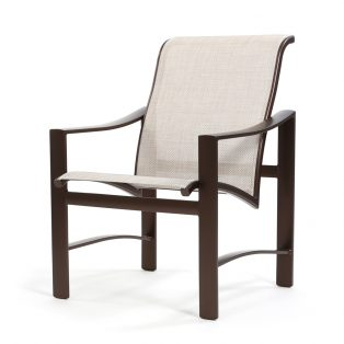 Kenzo sling low back dining chair