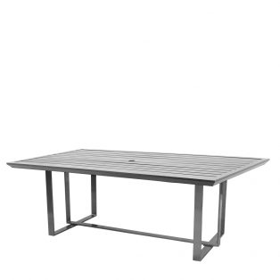 "Castelle 42"" x 84"" rectangle Moderna dining table"