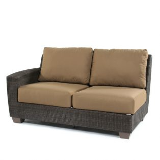 Saddleback Left Arm Face Love Seat Sectional
