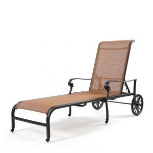 Valbonne sling chaise lounge