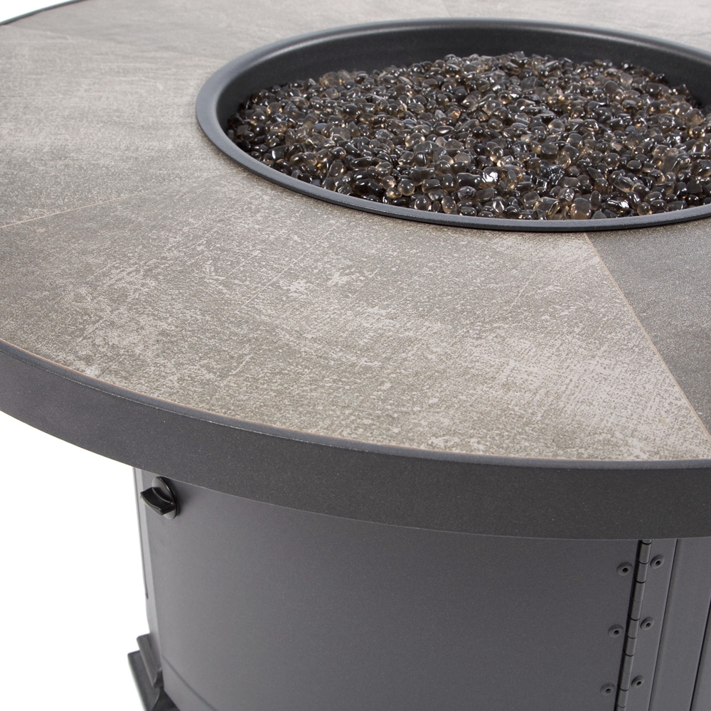 Ow Lee 42 Quot Round Chat Height Santorini Fire Pit Urban