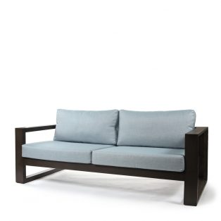 Denmark 2.5 seater sofa with Idol Frost cushions