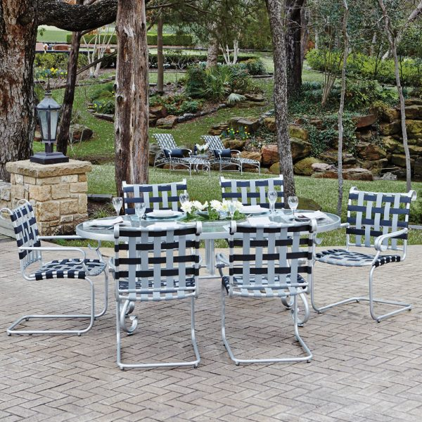 Woodard Ramsgate aluminum patio dining furniture