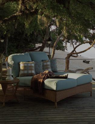 Double Chaise Lounges