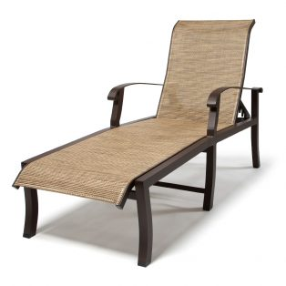 Cortland Sling Chaise Lounge