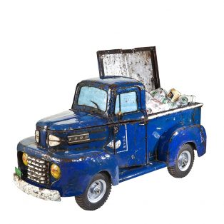 Ford pick up truck cooler - blue