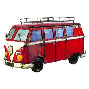 Kool Kombi '66 beverage cooler - Red