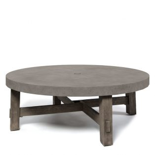 Amherst 50 Round Chat Table