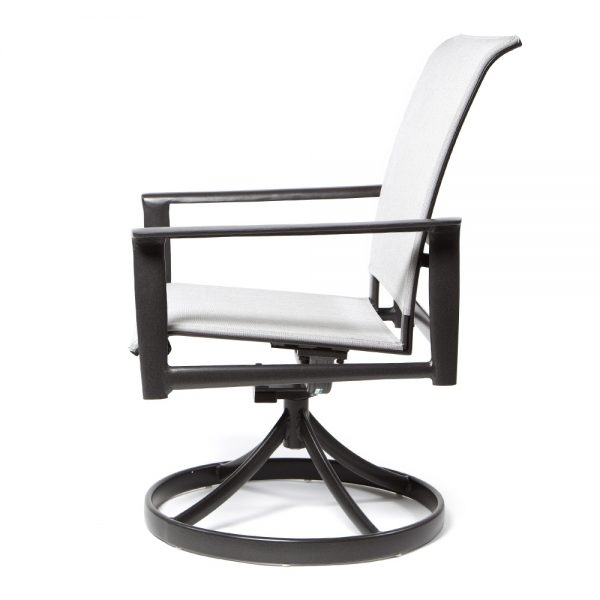 Contempo Swivel Dining Chair Side