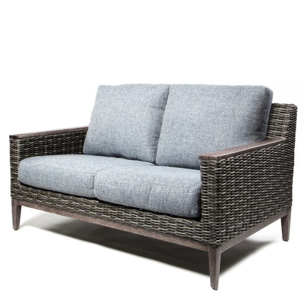 Remy Loveseat With Arm Caps