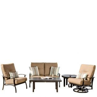 Albany Loveseat Deep Seating Set