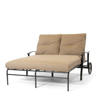 Albany Double Chaise Caribou