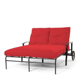 Albany Double Chaise Ruby